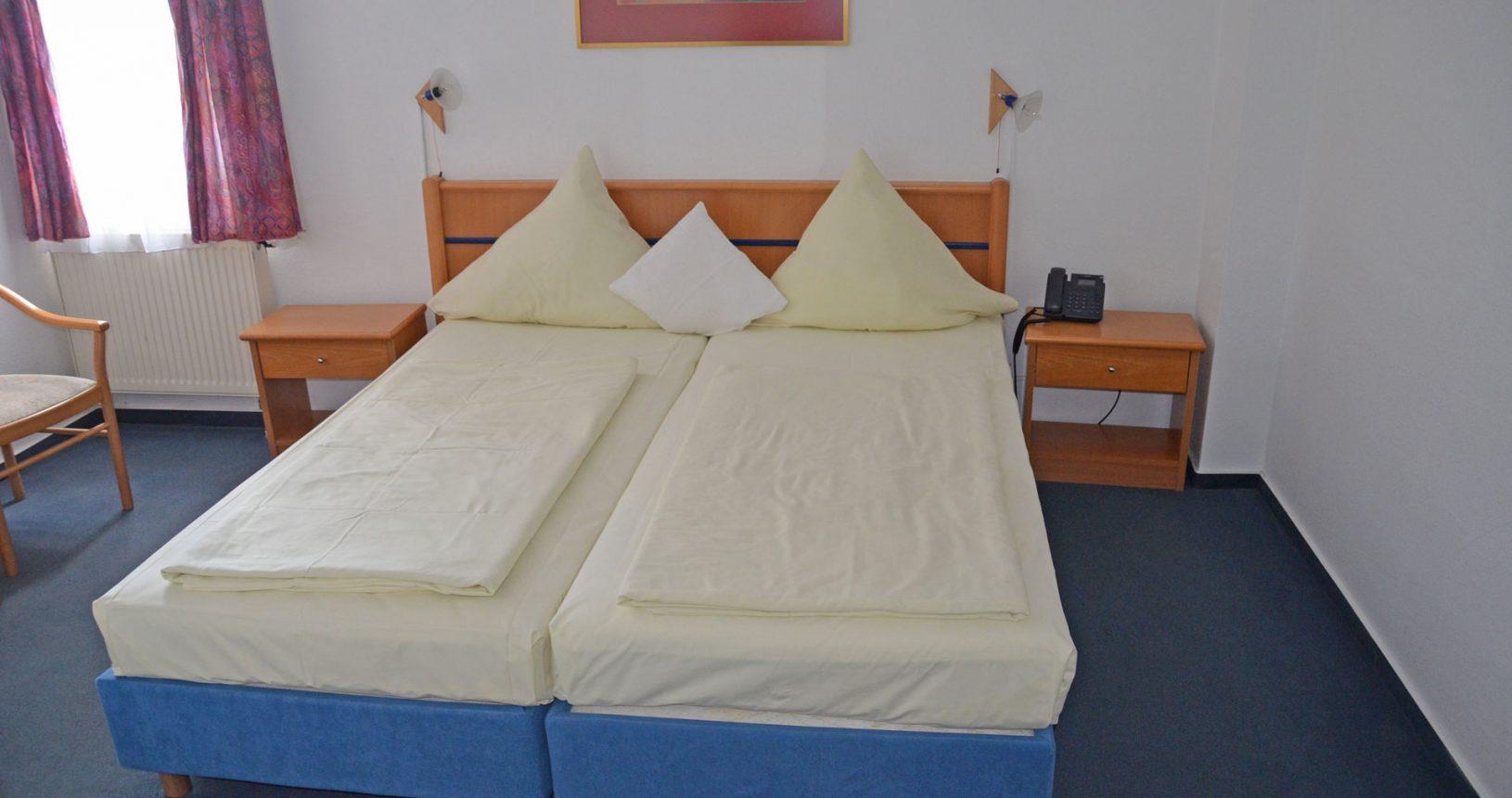Doppelzimmer Hotel Schwartzer Löwe Babenhausen